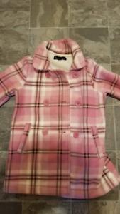 Girls plaid jacket - size medium