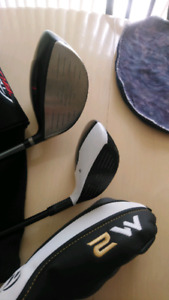 PRICED TO SELL FAST BRAND NEW LEFT HAND TAYLORMADE WOOD'S SET