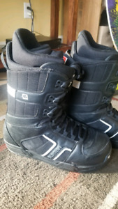 Burton Vader Imprint in leather 10.5 M
