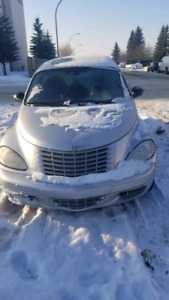 2005 Chrysler PT Cruiser sedan $2,100
