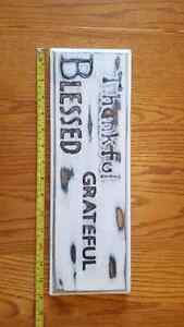 Wooden sign 15.00 each(art) Peterborough Peterborough Area image 2