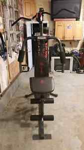 home gym weight set bench  costco