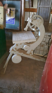 Awesome Custom Made Antique Bandsaw