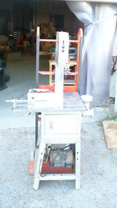 "10"" meat bandsaw with grinder"