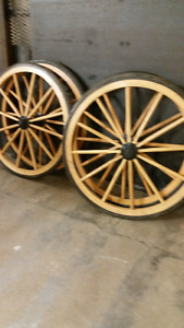 Wagon Wheels Rubber Capped