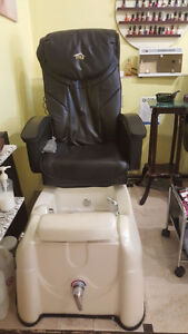 Pedicure chairs with massages  in new condition
