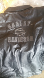Ladies new with tags Harley Davidson leather jacket Size 3W