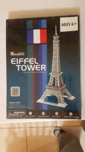 NEW. Eiffel Tower 3D puzzle