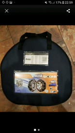 Heavy duty snow chains