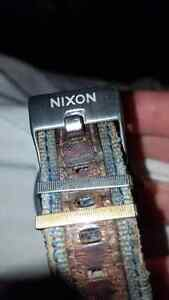 Gold nixon ( the rover ) men's watch mint * Windsor Region Ontario image 4