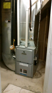 No heat, Run Gasline, Gasleaks, Ductwork