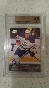 2015-16 Upper Deck S1 Connor McDavid rookie card #201 - BGS 9.5