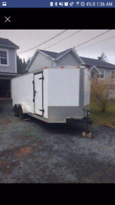 2011 Enclosed Vnose 18ft Trailer