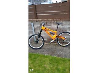 Orange Patriot Mountain Bike