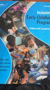 inclusion in early childhood program (5th edition)