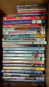 DVD's, VCR Movies, Animes & CD's Sell Out