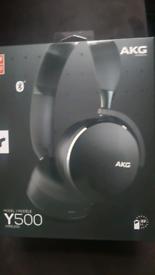 Brand new akg y500 headphones