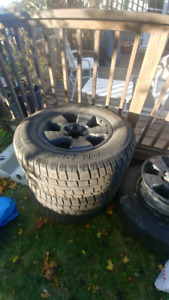 265/70/17 Rims with Tires