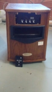 HEAT INFRARED HEATER    1500 MODEL WITH REMOTE
