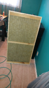 Audio Accoustic Absorption Panels. By M&M