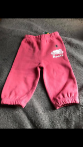 Roots track suit