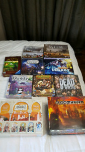 Boardgames New and Very Lightly Used **No Trades**