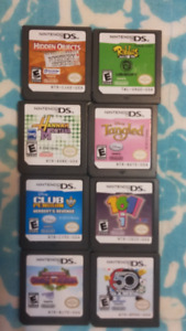 8 Ninetendo DS GAmes for $20