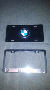BMW LICENSE PLATE