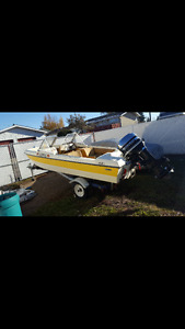 Boat w/ trailer for sale