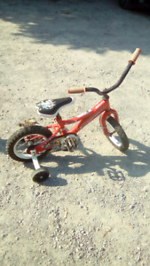 Boys / girls bicycle, 12 inch rims