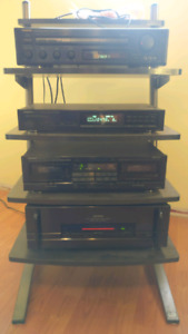 Onkyo complete stereo system.