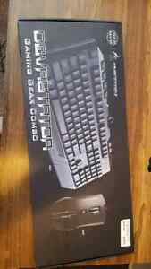 Gaming back lite  keyboard and mouse