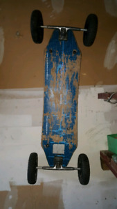 Mountain board (offroad skateboard)