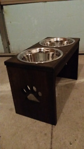 $$ Brand New Hand Crafted Dog Bowls Only 40$$