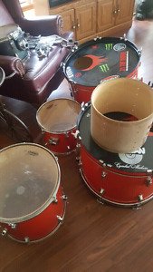 Pearl export double bass drums 300obo