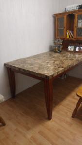 Table en veritable marbre