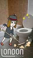 Cleaning lady
