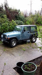 1999 Jeep Wrangler GRAY Convertible