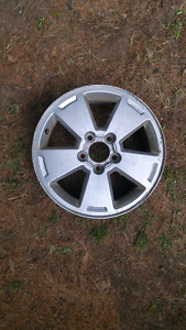 Looking for 1 or 2 Chevrolet aluminum rims to fit 2007 impala