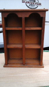 Solid Wood Ornament Cabinet