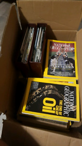 Big box of national geographic