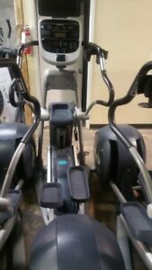 Precor 833 Commercial Ellipticals-LOWER BODY ONLY-work well