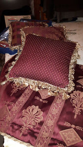 Beautiful set for KING size BED