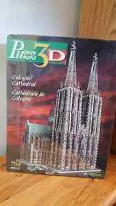 Puzz 3D puzzle of the Cologne Cathedral, unopened