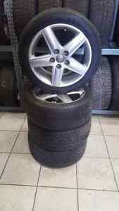 Audi a3 a4 oem rims and tires 17 inch