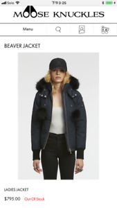Brand New - Moose Knuckles Beaver Jacket