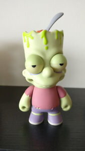 Kidrobot - The Simpsons SDCC Zombie Bart figure