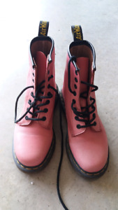 Pink Dr. Martens Boots