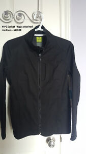 MPG Jacket, tags attached size medium