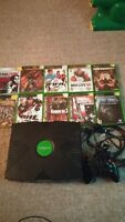 Original Xbox System with Huge Lot of games and 1 controller